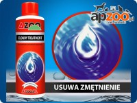 AZOO CLOUDY TREATMENT - krystalizuje mętną wodę w akwarium #120ml