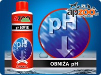 AZOO pH LOWER - preparat do obniżania pH #250ml