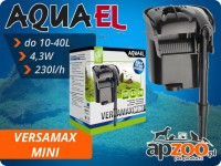 AQUAEL VERSAMAX MINI filtr kaskadowy  do akwarium 10-40 l