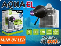 AQUAEL MINI UV LED sterylizator UV-C do filtrów wenętrznych: FAN, TURBO, CIRCULATOR, UNIFILTER, PAT MINI