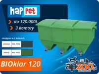 happet BIOklar 120 filtr 3-komorowy do oczka / stawu do 120.000 l