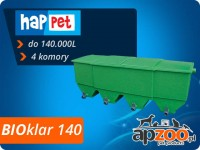 happet BIOklar 140 filtr 4-komorowy do oczka / stawu do 140.000 l