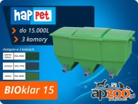happet BIOklar 15 filtr 3-komorowy do oczka / stawu do 15.000 l