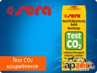 SERA CO2 TEST INDICATOR SOLUTION 15ml - uzupełnienie testu CO2